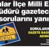 Bağcılar İlçe Milli Eğitim Müdürü Mustafa Yılmaz soruları cevaplıyor