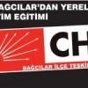 CHP Bağcılar'dan yerel yönetim eğitimi