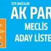 İşte Bağcılar AK Parti'nin Meclis aday listesi