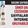 Gazete Bağcılar'ın Kasım sayısı çıktı