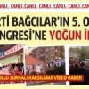 AK Parti Bağcılar'ın kongresine yoğun ilgi