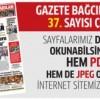 Gazete Bağcılar'ın 37. Sayısı çıktı