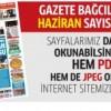 Gazete Bağcılar'ın HAZİRAN sayısı çıktı..