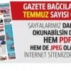 Gazete Bağcılar'ın TEMMUZ sayısı çıktı..