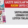 Gazete Bağcılar'ın KASIM sayısı çıktı