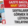 Gazete Bağcılar'ın MART sayısı çıktı..
