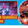 Bağcılar demokrasi nöbetinde…