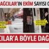 Gazete Bağcılar'ın EKİM sayısı böyle dağıtıldı..