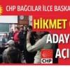 Hikmet Çelik, CHP Bağcılar İlçe Başkan Adaylığını Açıkladı