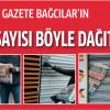 Gazete Bağcılar'ın 66. Şubat Sayısı böyle dağıtıldı VİDEO