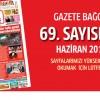 Gazete Bağcılar  Sayı 69 Haziran Sayısı çıktı