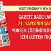 Gazete Bağcılar'ın EKİM sayısı çıktı…