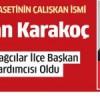 CHP Bağcılar İlçe Başkan Yardımcısı Ozan Karakoç oldu