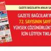 Gazete Bağcılar'ın ARALIK sayısı çıktı..