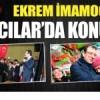 Millet İttifakı'nın Adayı CHP'li Ekrem İmamoğlu Bağcılar'da konuştu