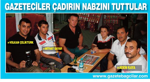 Bağcılar'ın gazetecileri Ramazan Çadırı'nın nabzını tuttular
