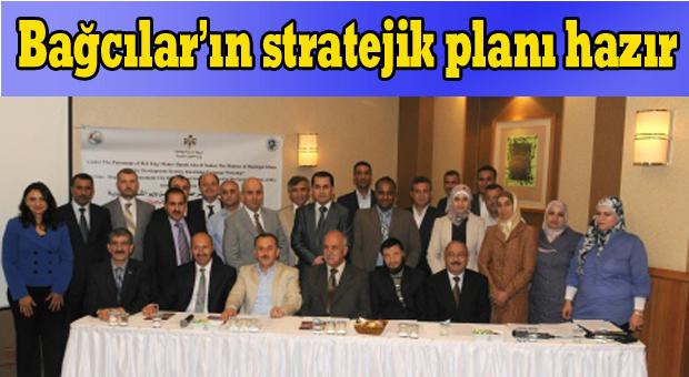 Başkan Çağırıcı'dan stratejik planlama sunumu