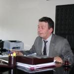 Kazım Karabekir Ortaokulu Müdürü Sefa Yılmaz okullarının çalışmalarıyla ilgili gazetecileri bilgilendirdi
