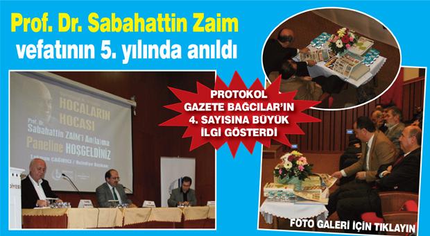 Öğrencileri Sabahattin Zaim'i anlattı