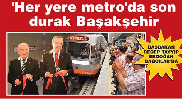 Başakşehir metrosu açılıyor!