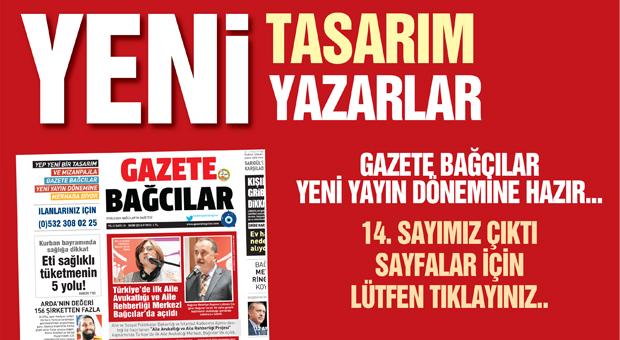 Gazete Bağcılar Ekim sayısıyla okuyucularının karşısında…