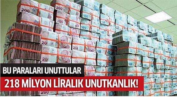 Şans oyunlarında  218 milyon lira unutuldu