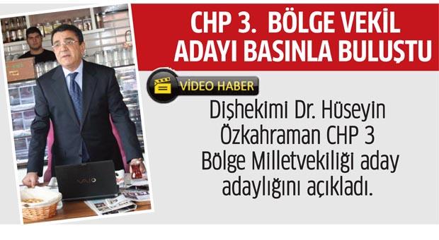 Hüseyin Özkahraman CHP'den adaylığını açıkladı