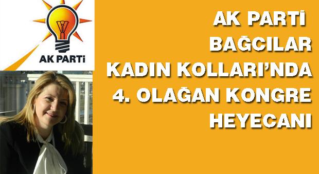 AK Parti Bağcılar Kadın Kolları Kongreye gidiyor
