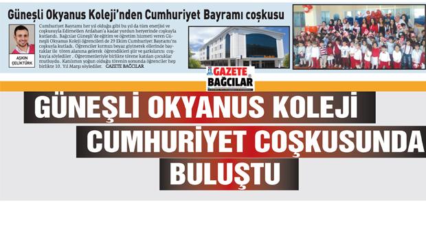 Güneşli Okyanus Koleji'nden Cumhuriyet coşkusu