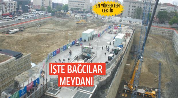 İşte Bağcılar Meydan İnşaatı'nın son hali