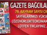 Gazete Bağcılar'ın 78. Bayram Sayısı Çıktı..