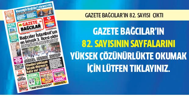 Gazete Bağcılar 82. Şubat Sayısı Çıktı..