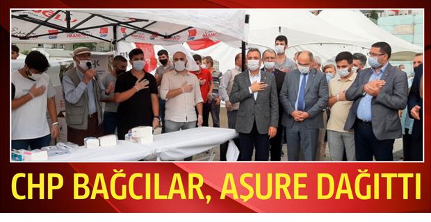 CHP Bağcılar, Aşure Dağıttı